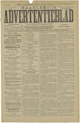 Haarlemsch Advertentieblad 1900-09-15