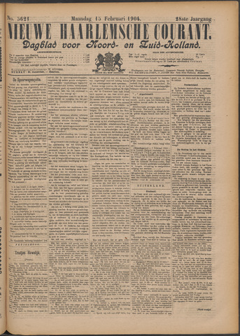 Nieuwe Haarlemsche Courant 1904-02-15