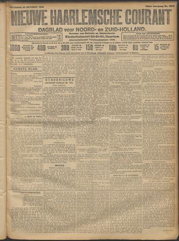 Nieuwe Haarlemsche Courant 1913-10-25