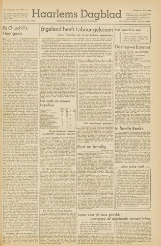 Haarlem's Dagblad 1945-07-27
