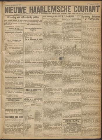 Nieuwe Haarlemsche Courant 1918-02-22