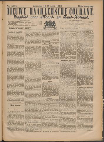 Nieuwe Haarlemsche Courant 1903-10-10