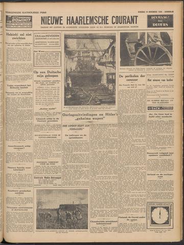 Nieuwe Haarlemsche Courant 1939-11-14