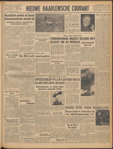 Nieuwe Haarlemsche Courant 1947-04-16