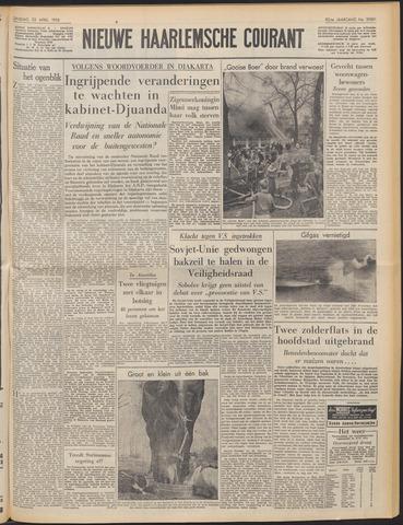 Nieuwe Haarlemsche Courant 1958-04-22