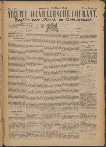 Nieuwe Haarlemsche Courant 1904-03-23