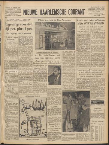 Nieuwe Haarlemsche Courant 1960-02-10