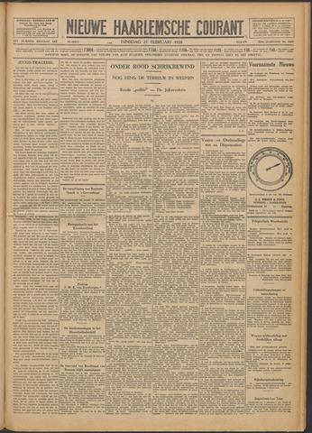 Nieuwe Haarlemsche Courant 1928-02-21