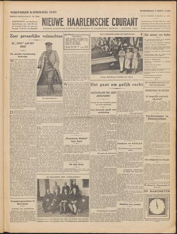 Nieuwe Haarlemsche Courant 1932-09-07