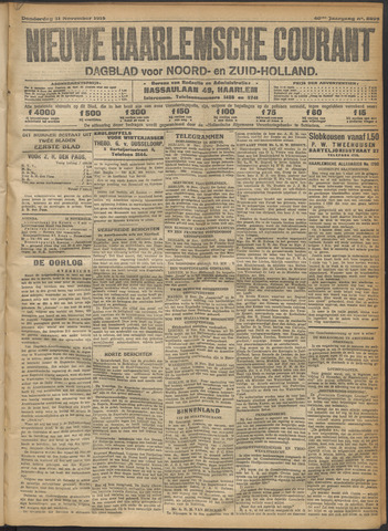 Nieuwe Haarlemsche Courant 1915-11-11