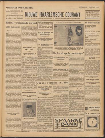 Nieuwe Haarlemsche Courant 1933-01-07