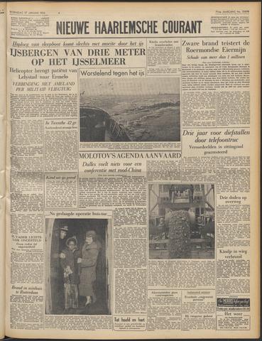 Nieuwe Haarlemsche Courant 1954-01-27