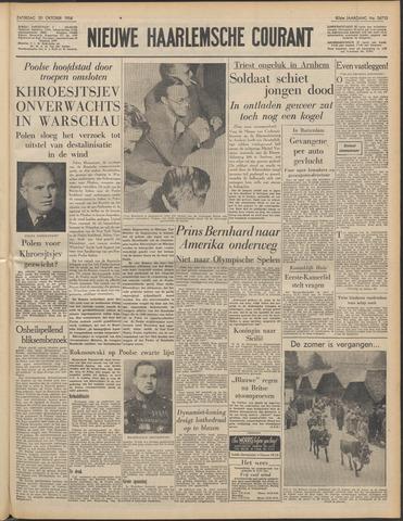 Nieuwe Haarlemsche Courant 1956-10-20