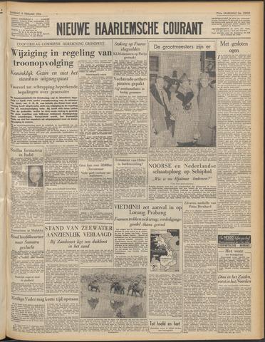 Nieuwe Haarlemsche Courant 1954-02-09