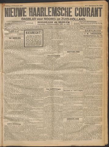 Nieuwe Haarlemsche Courant 1917-02-09