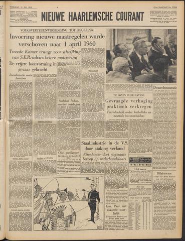 Nieuwe Haarlemsche Courant 1959-07-15