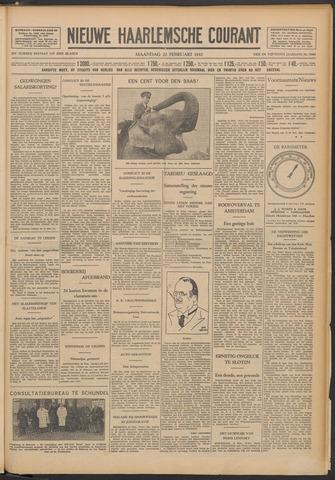 Nieuwe Haarlemsche Courant 1932-02-22