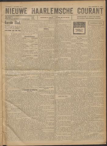 Nieuwe Haarlemsche Courant 1921-10-01