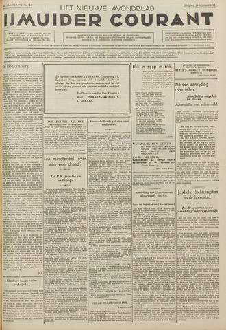 IJmuider Courant 1938-11-29
