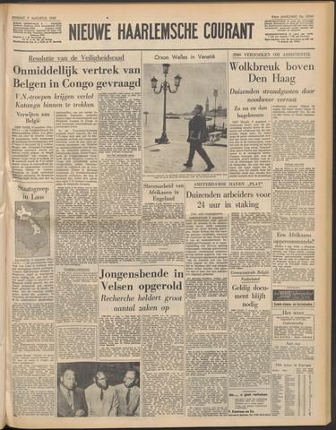 Nieuwe Haarlemsche Courant 1960-08-09