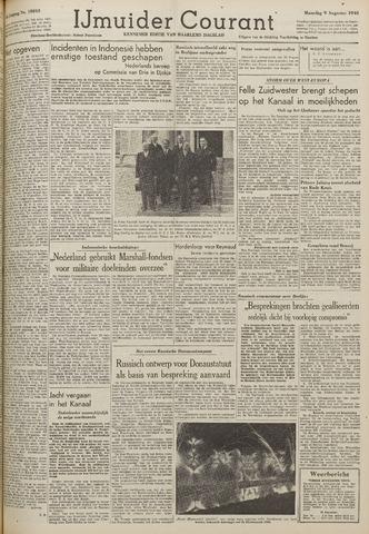 IJmuider Courant 1948-08-09