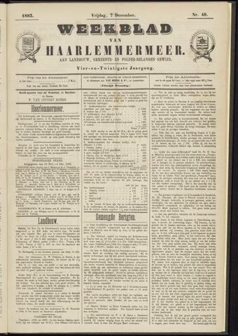 Weekblad van Haarlemmermeer 1883-12-07