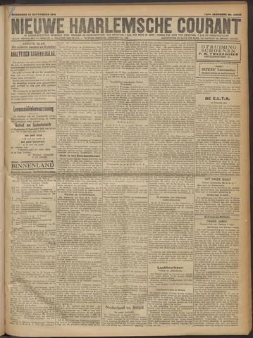 Nieuwe Haarlemsche Courant 1919-09-10