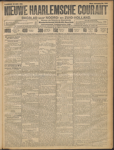 Nieuwe Haarlemsche Courant 1910-11-28
