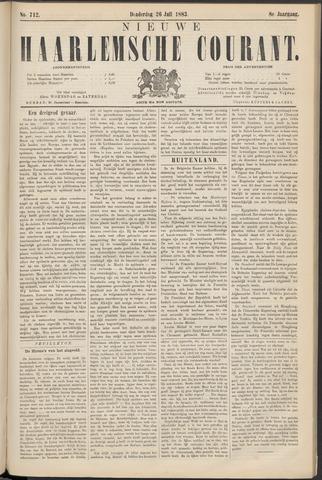 Nieuwe Haarlemsche Courant 1883-07-26