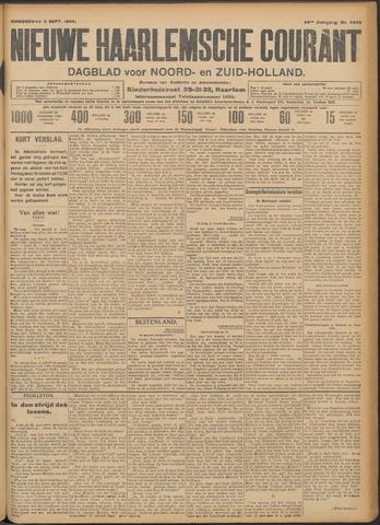 Nieuwe Haarlemsche Courant 1909-09-02