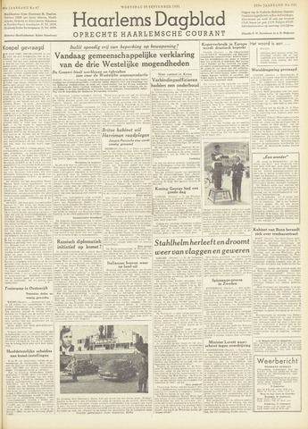 Haarlem's Dagblad 1951-09-26