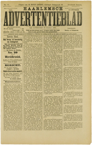 Haarlemsch Advertentieblad 1895-10-26