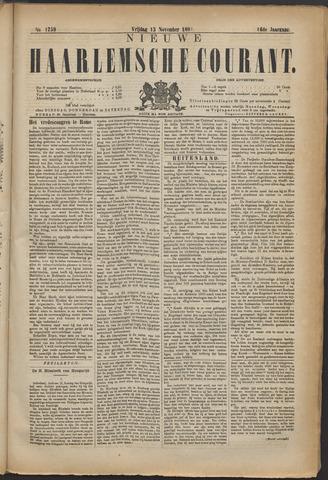 Nieuwe Haarlemsche Courant 1891-11-13