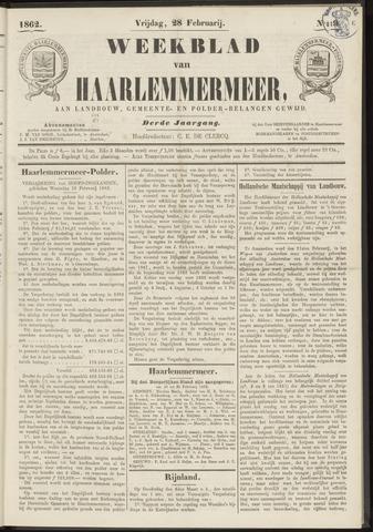 Weekblad van Haarlemmermeer 1862-02-28