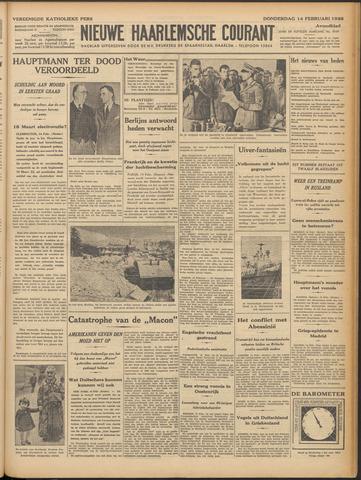 Nieuwe Haarlemsche Courant 1935-02-14