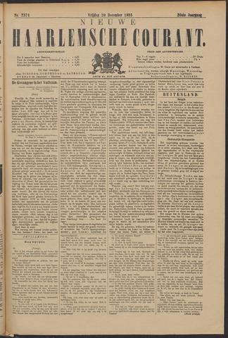 Nieuwe Haarlemsche Courant 1895-12-20
