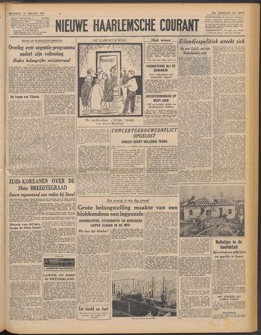 Nieuwe Haarlemsche Courant 1951-02-12