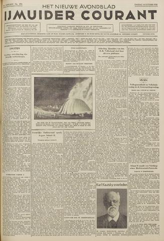 IJmuider Courant 1938-10-18