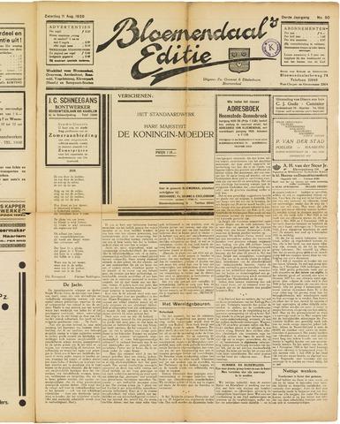 Bloemendaal's Editie 1928-08-11