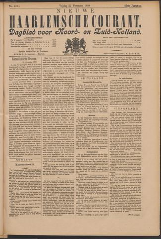 Nieuwe Haarlemsche Courant 1898-11-25