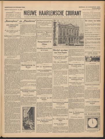 Nieuwe Haarlemsche Courant 1934-08-12