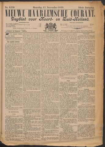 Nieuwe Haarlemsche Courant 1899-11-13
