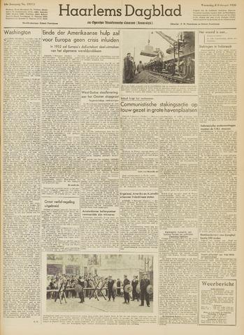 Haarlem's Dagblad 1950-02-08