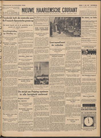 Nieuwe Haarlemsche Courant 1937-07-11