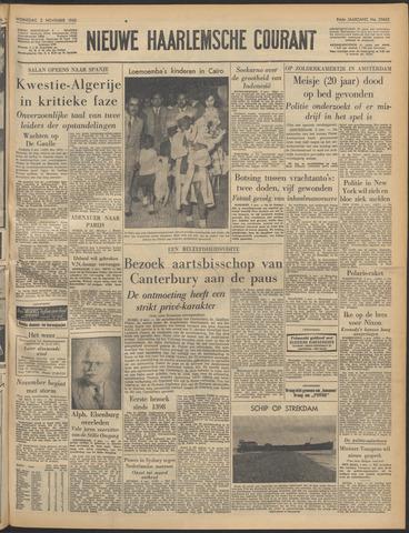 Nieuwe Haarlemsche Courant 1960-11-02