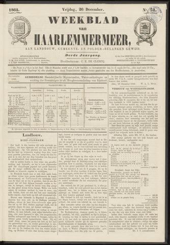 Weekblad van Haarlemmermeer 1862-12-26