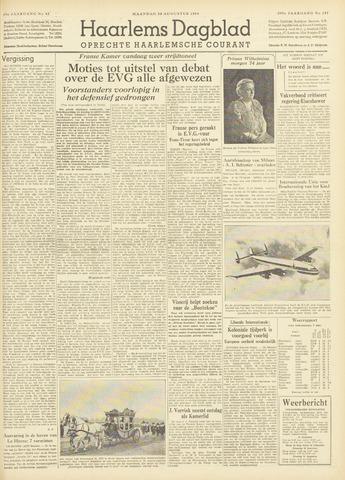 Haarlem's Dagblad 1954-08-30