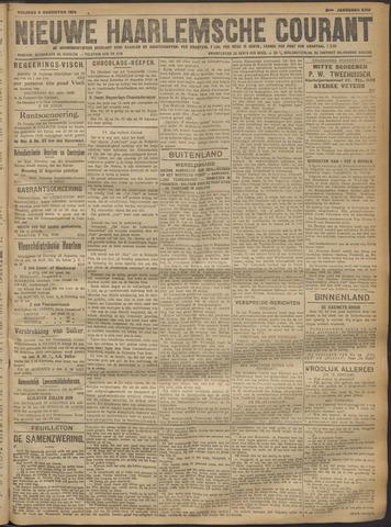 Nieuwe Haarlemsche Courant 1918-08-09