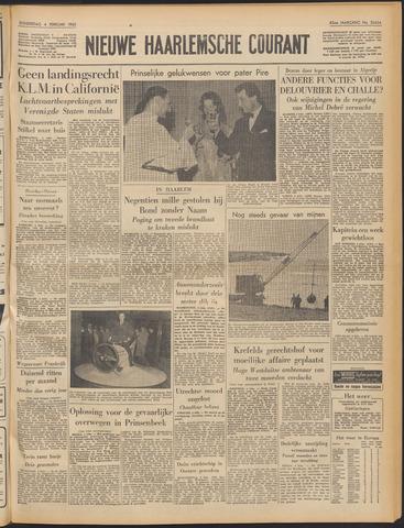 Nieuwe Haarlemsche Courant 1960-02-04