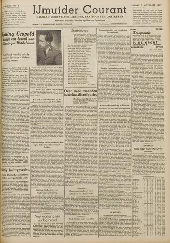 IJmuider Courant 1939-11-07